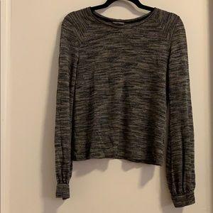 Zara glitter thread knit